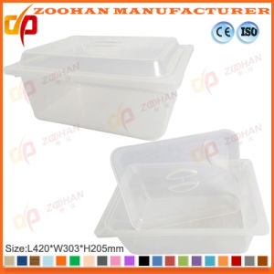 Store Plastic Food Display Box Storage Container with Cover (Zhtb19) pictures & photos