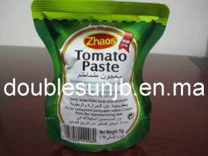 Pouch Packing Tomato Paste.
