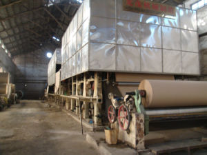 Kraft Paper Machinery (1575mm) pictures & photos