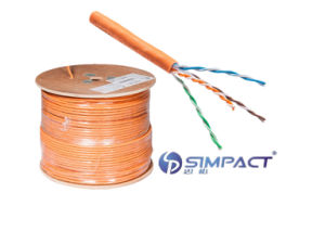 UL/CE/RoHS/ISO Approved Twisted Pair Cable (UTP) LSZH Category 6-Simpact pictures & photos