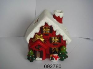 Christmas Candle Holder (092780)