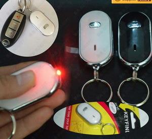 Smart Flashing Electronic Key Finder with Custom Logo