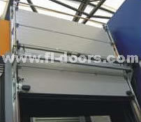 Industrial Automatic Upright Lifting Door (Middle Position Installation)