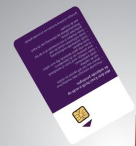 PVC Card /Contact Card Wiht SLE5542, 5528 Chip