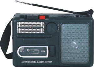 Professional Multi-Bands Portable Radio Cassette Recorder Player (AY-3300)
