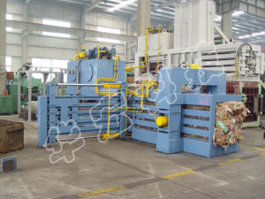 Automatic Hydraulic Waste Paper Baler Machine with Ce pictures & photos