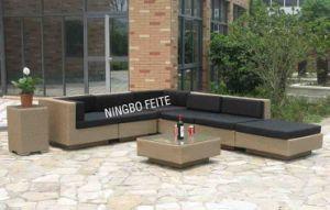 Outdoor Garden Rattan Furniture Lounge Big Sofa Set