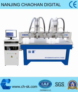 Multi-Head Six Head CNC Router Woodworking Machine in China