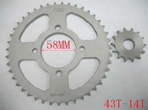 Motorcycle Spare Parts - Sprocket Kit Catalina (SUZUKI GS-125) pictures & photos