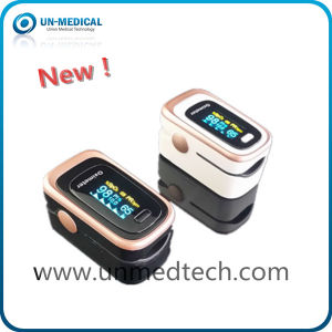 Hot-Ce Approved Fingertip Pulse Oximeter with Sleep Monitoring Function pictures & photos