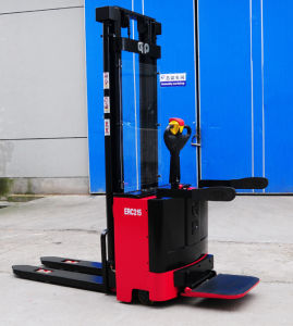 1.0 Ton -1.6 Ton DC Power Electric Stacker
