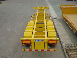 45FT 3 Alxe Skeleton Container Chassis pictures & photos
