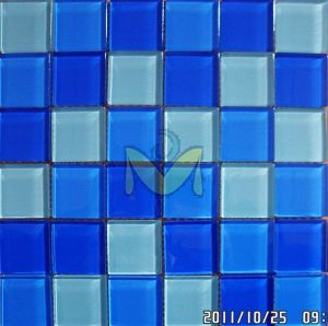 Swimming Pool Glass Mosaic Tiles pictures & photos