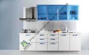 Modern UV Kitchen Cabinet (ZS-150) pictures & photos