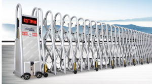 Stylish Aluminum Alloy Automatic Folding Gate (SQMC-Y)