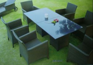 Plastic Rattan Furniture (SET0515)