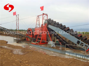Chain Bucket Sand Washing Dredger pictures & photos