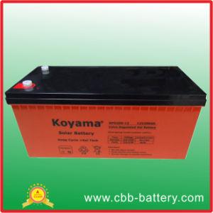 Gel Deep Cycle 12V Marine Battery Gel 200ah Solar Battery pictures & photos