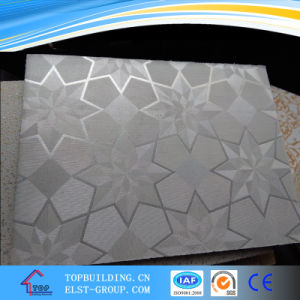 PVC Gypsum Ceiling Tile/ Vinyl Laminated Gypsum Ceiling pictures & photos