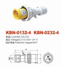 Industrial Plugs and Sockets (KBN0132-4 KBN0232-4)