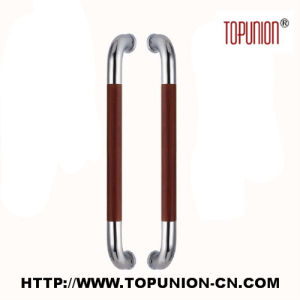 Good Quality Stainless Steel Wooden Pull Handle (TU-346S) pictures & photos