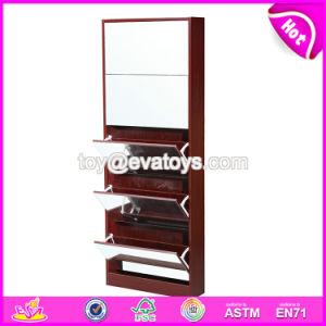 Wholesale High Quality Antique Wooden Mirrored Furniture with Drawer Cabinet W08h091 pictures & photos