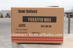 Fully Refined Paraffin Wax (58#) pictures & photos