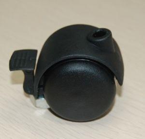 Twin Wheel Nylon Caster, Furniture Caster