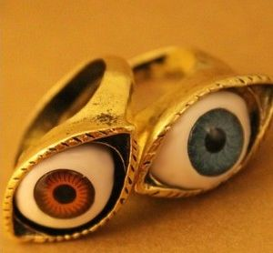 Jewelry Ring/ Finger Ring/ Fashion Rings/ Eyes Shape Fashion Jewelry (XRG12007) pictures & photos