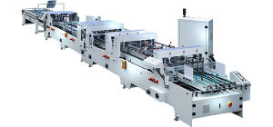 Zx-1200bfst Automatic Crash Lock Bottom Folding Gluing Machine of 4-6 Corners pictures & photos