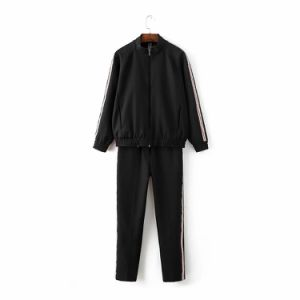 High Quality Women Garment New Casual Sportwear Suit pictures & photos