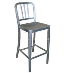 Hospitality Aluminum Restaurant Navy Bar High Chair (DC-06106) pictures & photos
