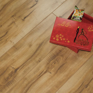New 12mm E. I. R Surface with V-Groove Laminate Flooring S008#
