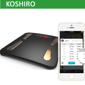 Best Promotional Gift Smart Scale with 17 Human Body Healthy Parameters pictures & photos