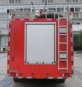 Isuzu 4X2 3.34cbm 189HP Mini Foam Fire Truck Euro IV Emission pictures & photos