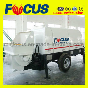 Nice Quality Trailer Concrete Pump Electric Power, Concrete Conveying Pump pictures & photos