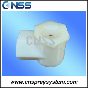 ABS Right Angle Female Hollow Cone Spray Nozzle pictures & photos
