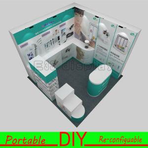 Custom DIY Portable Aluminium Modular Stand Booth Display Shelves Exhibition pictures & photos