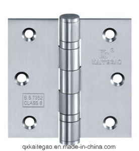 "Stainless Steel Door Hinge for Wooden Door (3.5""X3""X2.5mm-2BB) pictures & photos"