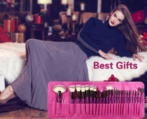 24 PCS Romatic Purple Beauty Equipment Cosmetic Makeup Brushes pictures & photos