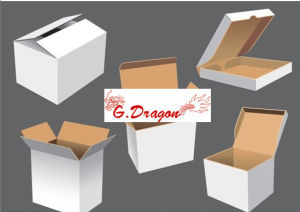 Cardboard Packing Mailing Moving Shipping Boxes Corrugated Cartons (PC014) pictures & photos