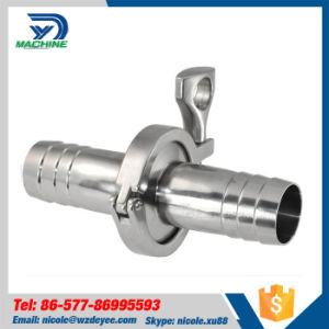 Stainless Steel Fitting Sanitary Hose Nippple pictures & photos