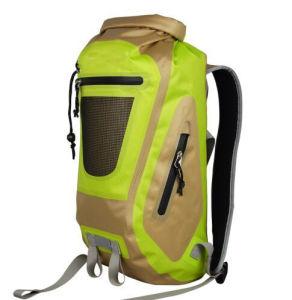 Neon Waterproof Dry Hiking Trekking Backpack Bag pictures & photos