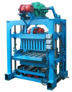 Qtj4-40II Small Manual Hollow Block Making Machine in South Africa pictures & photos