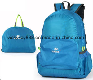 Supper Light Foldable Double Shoulder Skinbag Outdoor Travel Bag (CY3302) pictures & photos