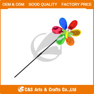Garden Decoration Windmill with Fiberglass Pole pictures & photos