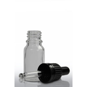 Clear Empty Dropper Bottle 10ml Essential Oil Glass Bottle Wholesale pictures & photos