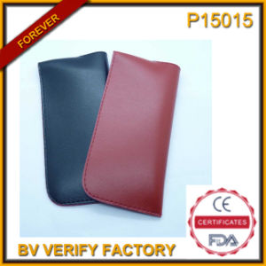 Soft and Leather Glasses Case with Ce Certification (P15015) pictures & photos