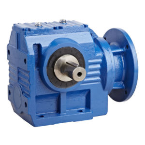 K Output Hollow Shaft Flange Mounted Helical Bevel Gear Reducer