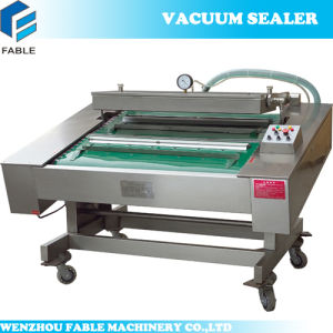 Stainless Steel Food Automatic Continuous Vacuum Sealer (DZ1000) pictures & photos